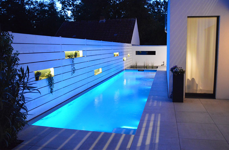 HDPE kunststof zwembaden